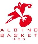 Logo Albino Basket Bianco