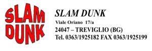 Logo Slam Dunk con dati